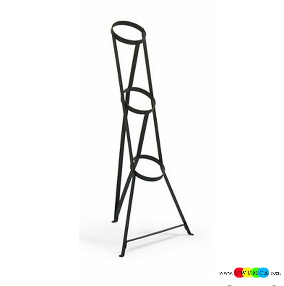 Outdoor Gardening 3 Tier Metal Plant Stand Diy Indoor Hanging Wood Table Ladder Vertical Tall Tiered Rolling