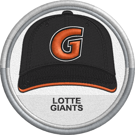 Lotte Giants Cap Hat Sports Logo Uniform Kbo League Korea Minor League Baseball Milb Created By J Minor League Baseball Logo Uniforms Sports Logo