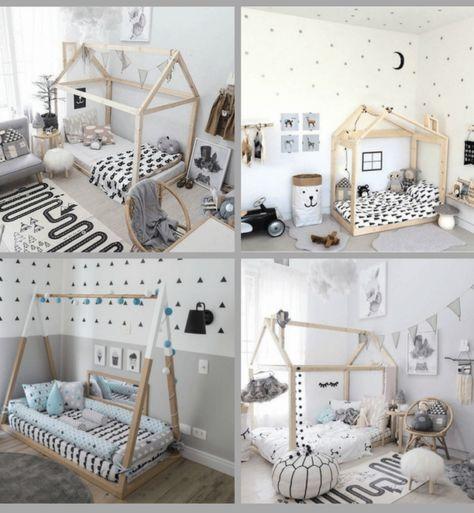 Habitaciones infantiles cosas bonitas y much sima for Decoracion habitacion infantil montessori