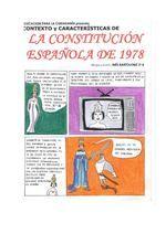 La Constitución española de 1978 (hecho por Inés Bartolomé)