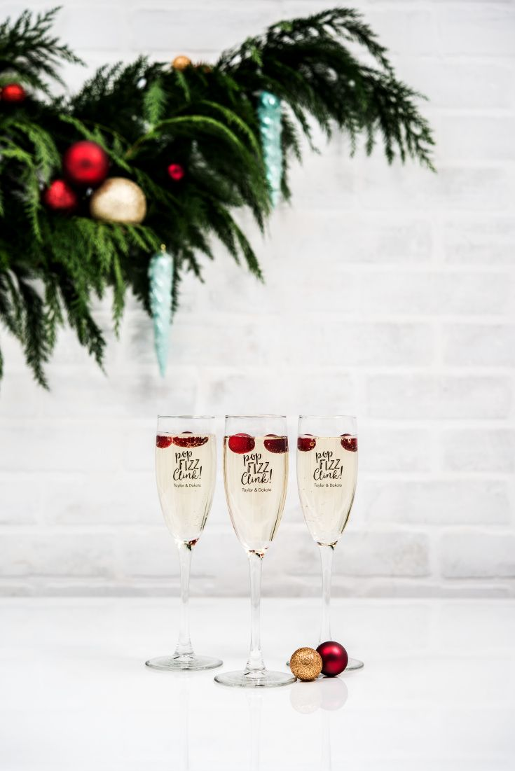 Classic Champagne Glass - Personalized | Champagne flutes, Flutes ...