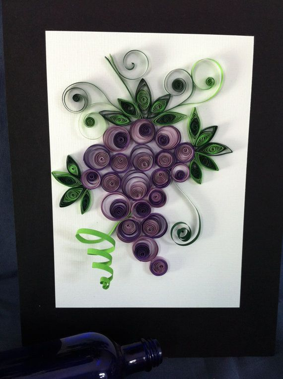 Beautiful grapes by AneleArt on Etsy