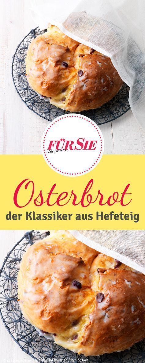 Osterbrot selber backen | Osterbrot, Brunch und Frühstück