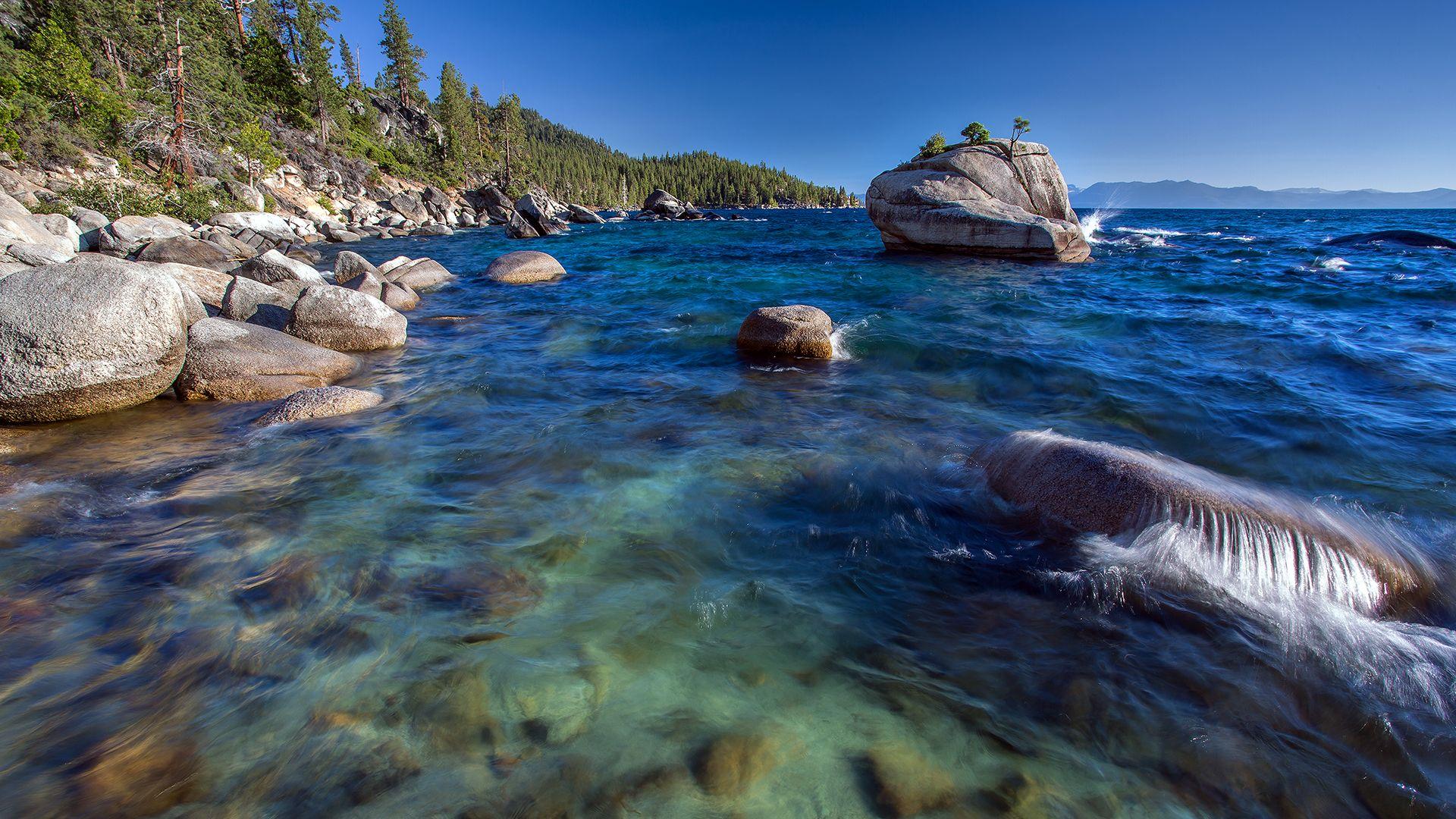Lake Tahoe 2 Desktop Wallpaper 1920x1080 Landscape