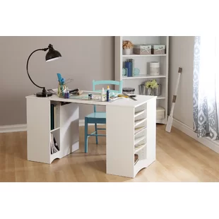 Craft Sewing Tables You Ll Love In 2019 Wayfair Craft Tables With Storage Craft Table Desk Storage