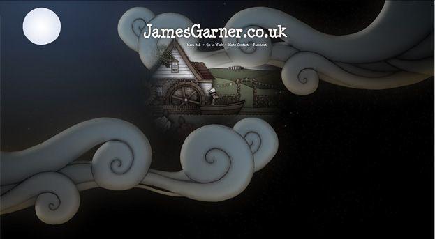 James Garner Website Design Fun Website Design Web Design Web Development Design