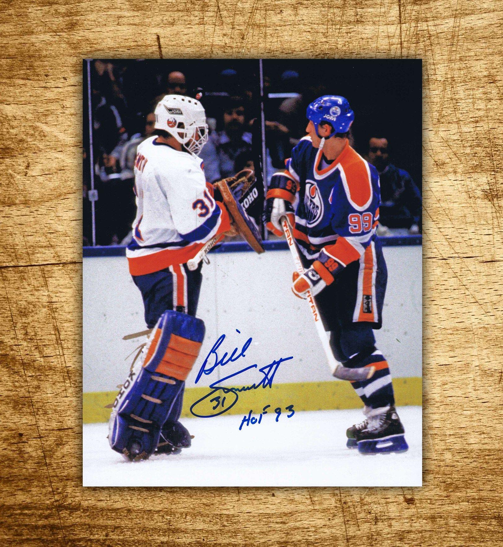 New York Islanders Billy Smith Autographed 8x10 Photo
