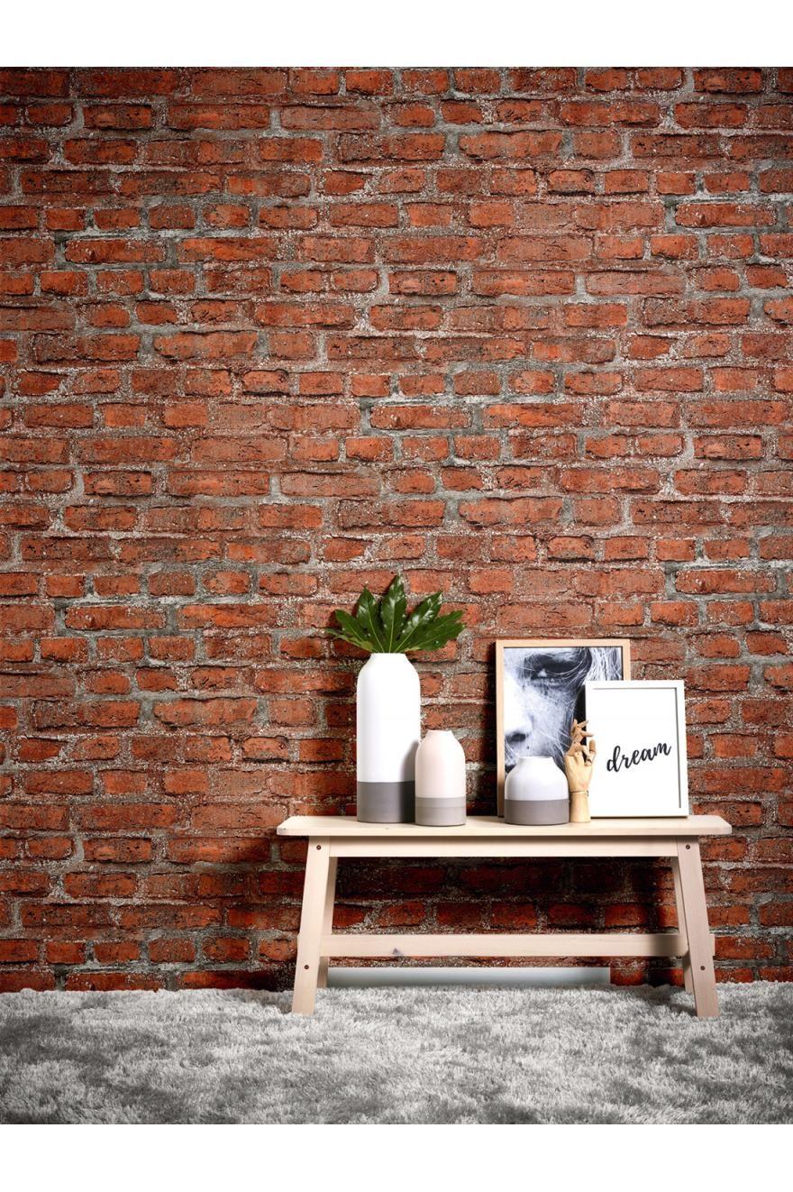 Papier Peint Brique Rouge New Studio 2 0 D As Creation Ref