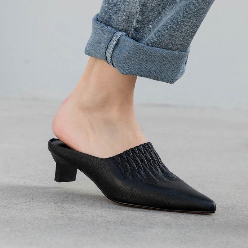 Heeled mules, Mules shoes heels