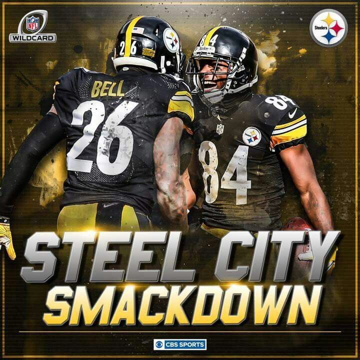 BELL & BROWN CAN'T GET ANY BETTER Pittsburgh steelers