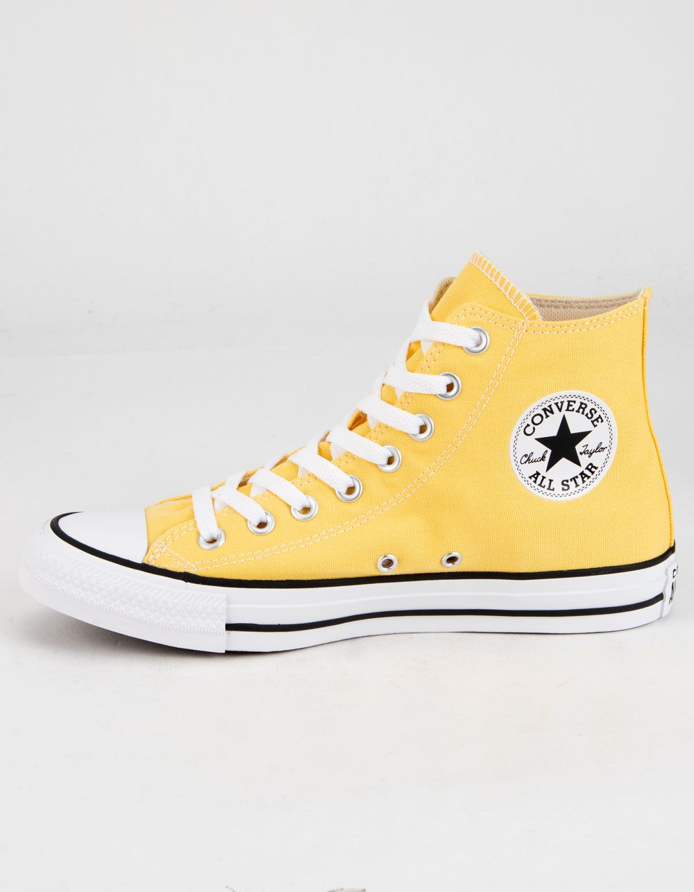 CONVERSE Chuck Taylor All Star Butter Yellow High Top Shoes ...