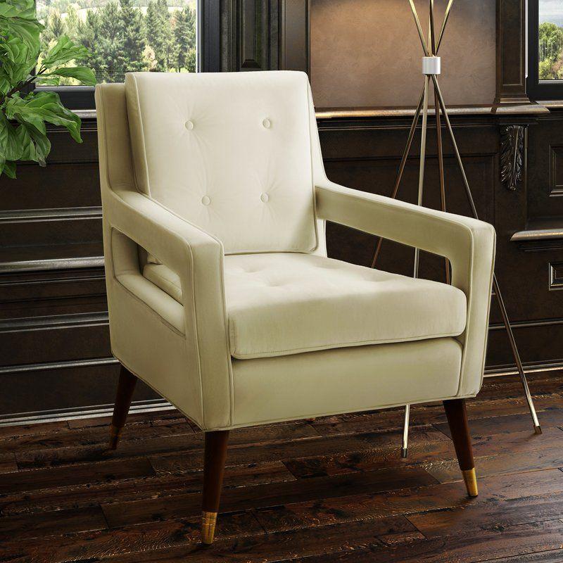 Alverstone armchair velvet chair velvet accent chair