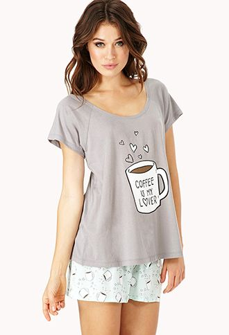 6e186418f89b Coffee Lover PJ Set