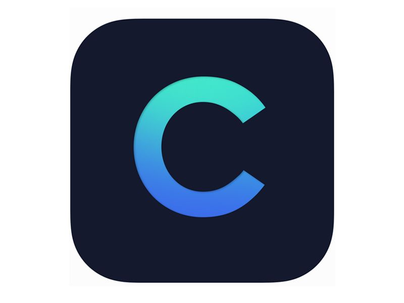 Apple App Store icon. This is a circle with several
