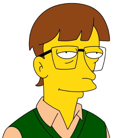 Image Bill Gates Png Simpsons Wiki Simpson The Simpsons Simpsons Characters