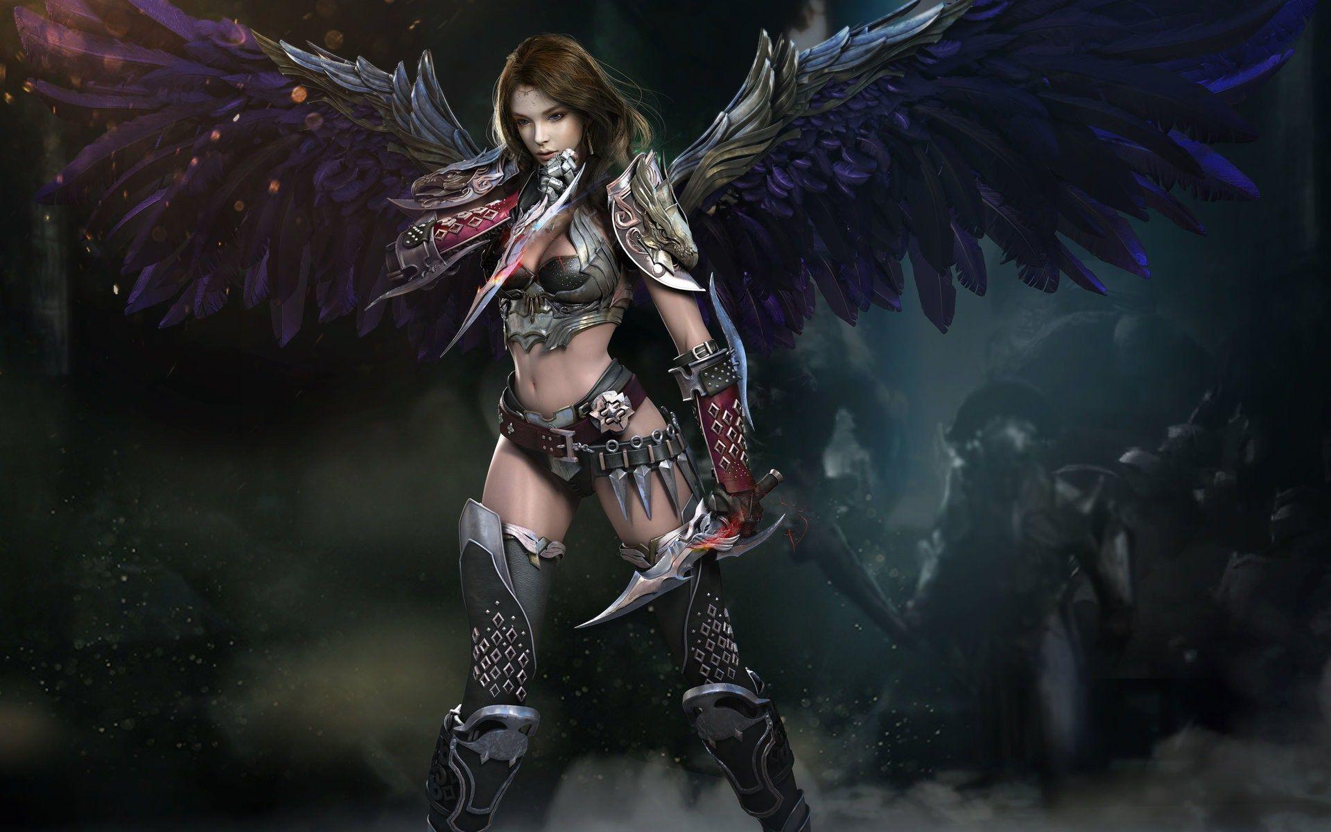 Digital Art Fantasy Girl