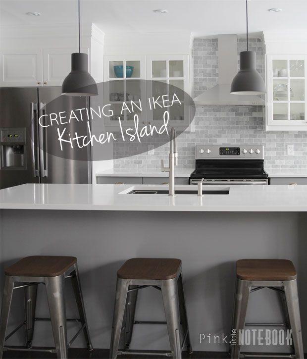Creating An Ikea Kitchen Island Pink Little Notebook Ikea