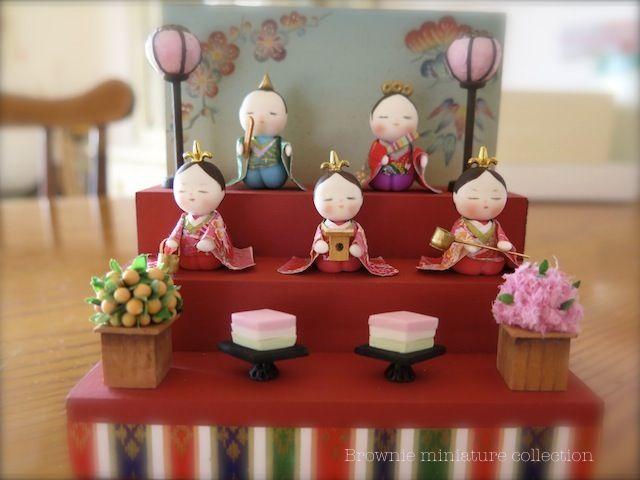 Doll festival Hina doll