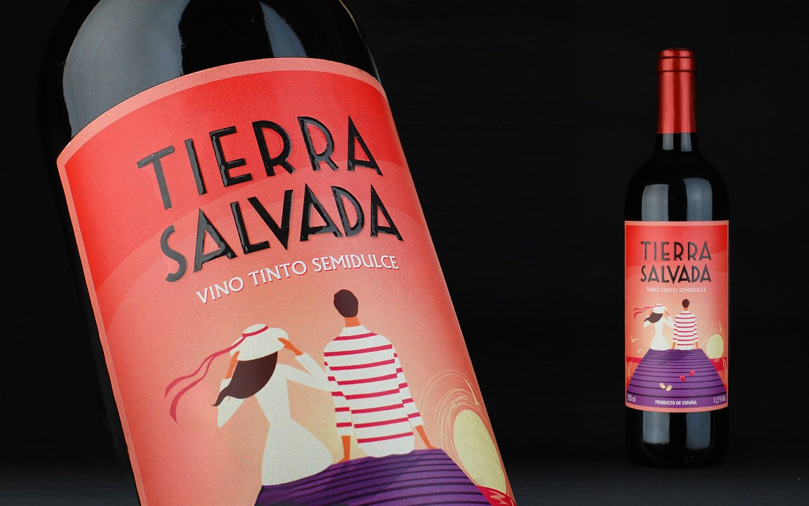 Tierra Salvada Packaging Design Inspiration Wine Packaging