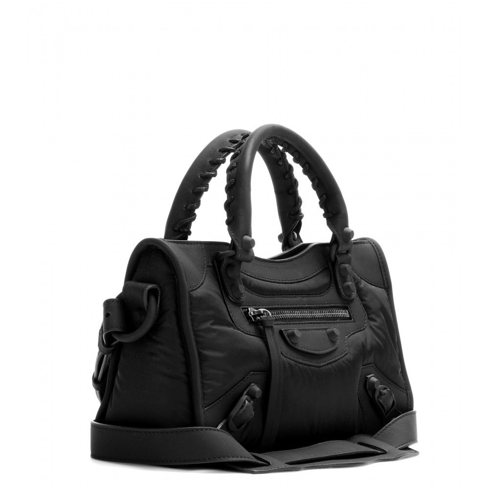 Balenciaga - Classic Mini City shoulder bag - mytheresa.com GmbH ... aadbbfab92376