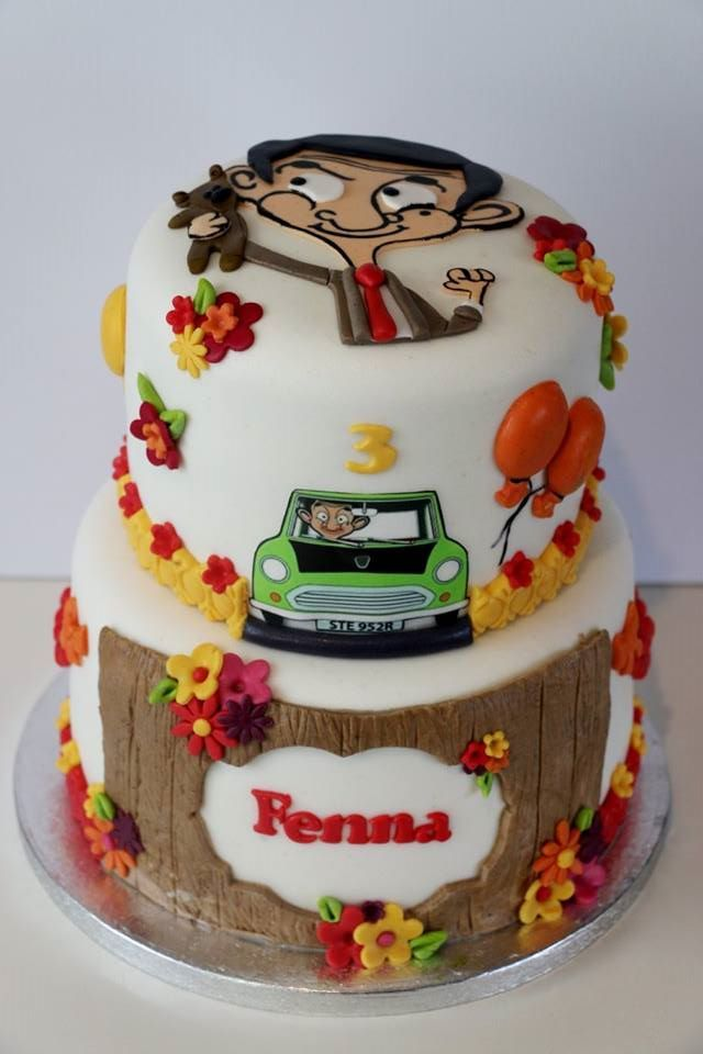 Mr Bean cake by Wendy's Taartenatelier | Tortas, Fiesta
