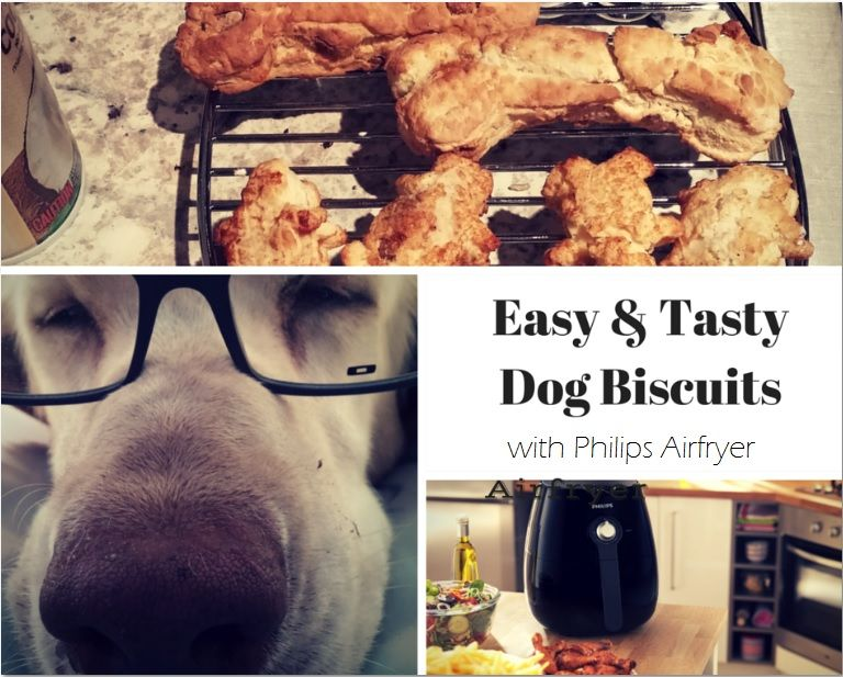 easy and tasty dog biscuits with philips airfryer jenns blah blah blog dog recipes tasty recipes easy and tasty dog biscuits with