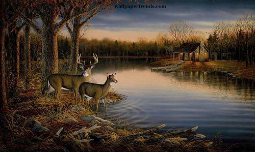 Terry Redlin Prints Bing Images Landscape Wallpaper