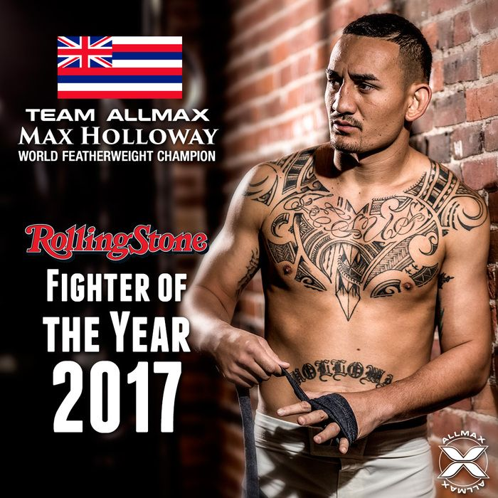 Congrats to #TeamALLMAX athlete and MMA fighter Max ...