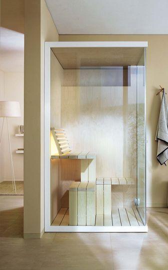 salle de bain avec sauna | salle de bain | pinterest | salle de ... - Salle De Bain Avec Sauna