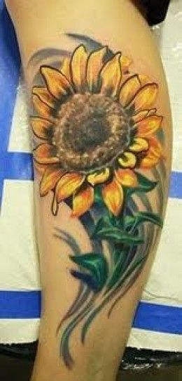 Photo of Sunflower Tattoos And Designs-Sunflower Tattoo Ideas And Meanings-Sunflower Tatt…