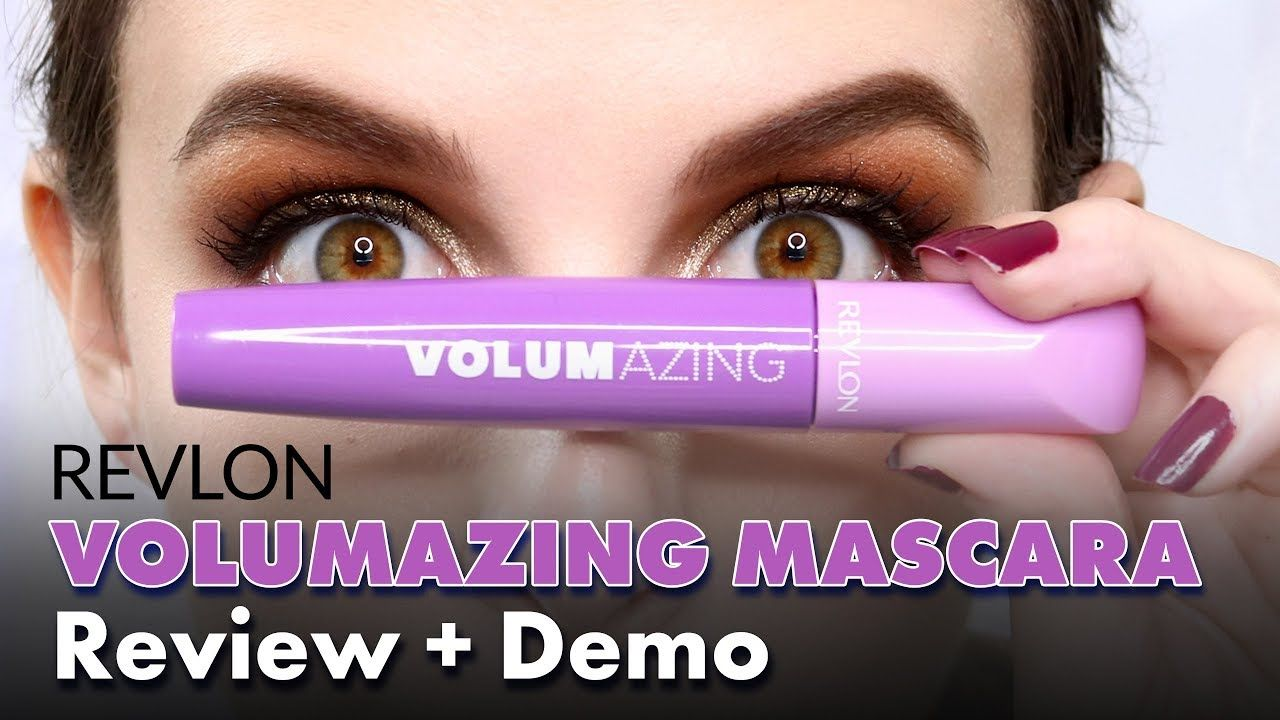 c9b6c6a397a Revlon Volumazing Mascara Review + Demo...#makeup #beauty #revlon #mascara  #volumazing #review #youtube #elisemariebeauty