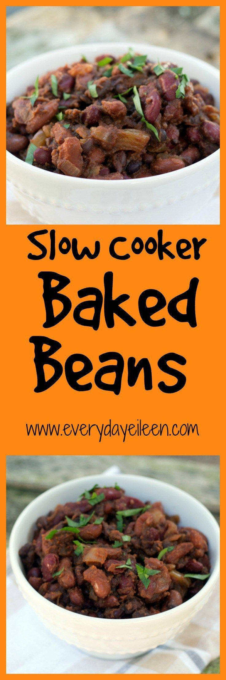 Slow Cooker Baked Beans | Recipe | Beans, Slow cooker baked beans and ...