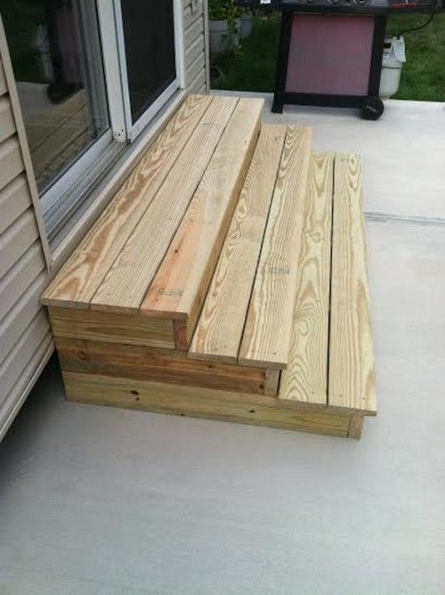 Best Pin By Tammi Schinkel On Outdoor Ideas Wood Steps 400 x 300