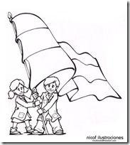 Dibujos Para Colorear De La Bandera Argentina Dibujos Bandera Argentina Dia De La Bandera