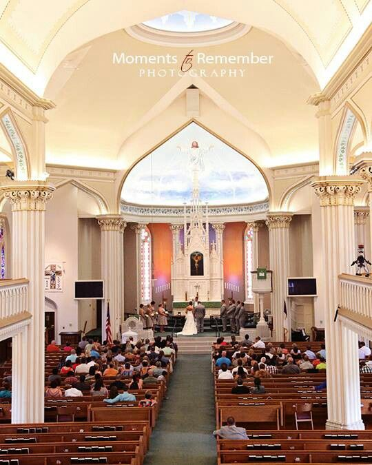 Wedding At St Lorenz Lutheran Church Frankenmuth Michigan By Moments To Remember