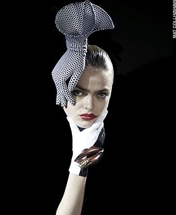 From the amazing London designer Phillip Treacy. Remember the hats for the wedding of Kate & William that created a big stir?