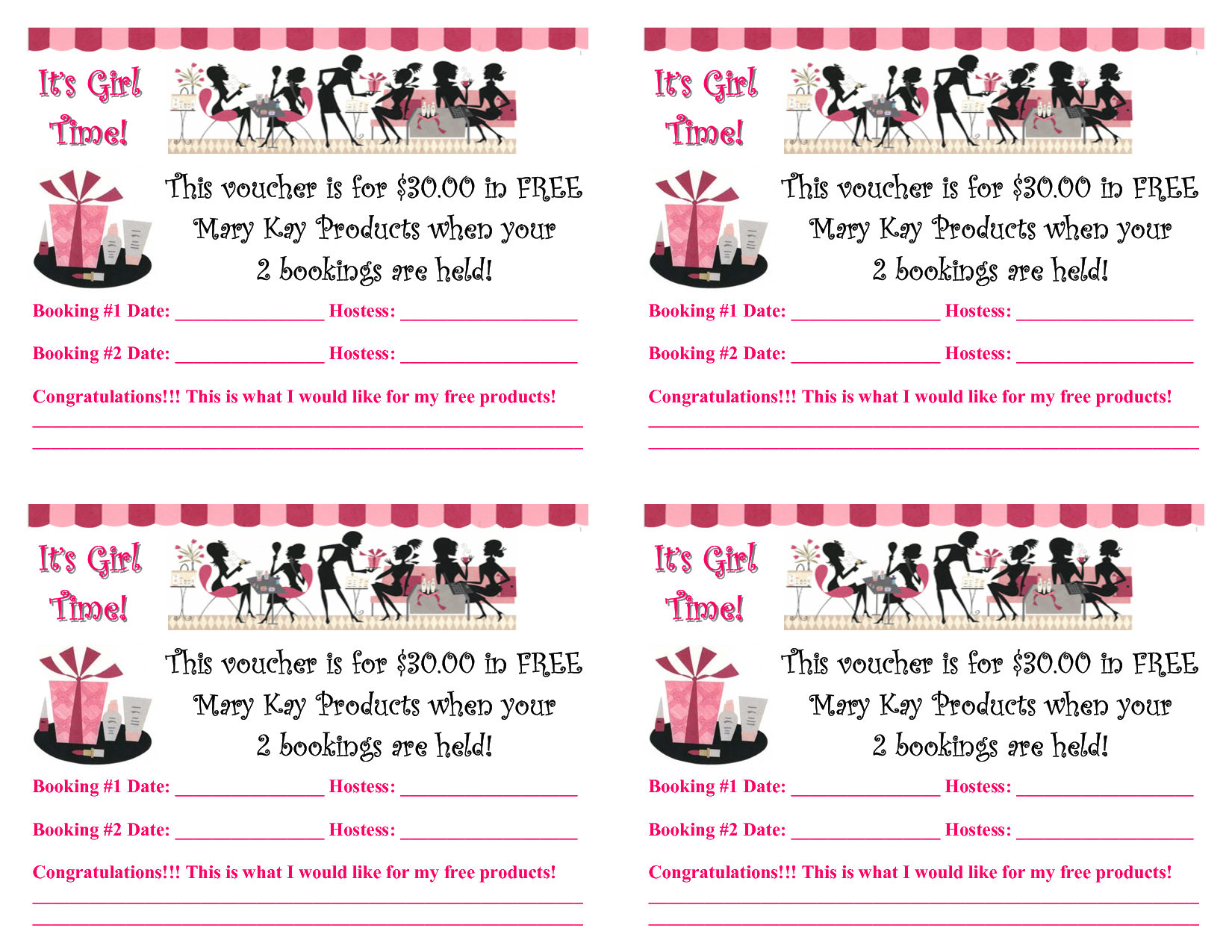 Mary kay flyers hostess rewards booking voucher 07pub read mary kay flyers hostess rewards booking voucher 07pub read only yadclub Choice Image