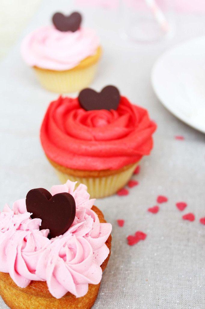 Valentin's Day cupcakes