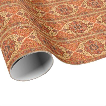 CLASSIC PERSIAN RUG WRAPPING PAPER - classic gifts gift ideas diy custom unique