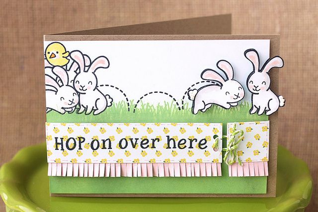 hop on over here! is part of lawn Fawn Pink Lemonade - hoponoverherelawnfa