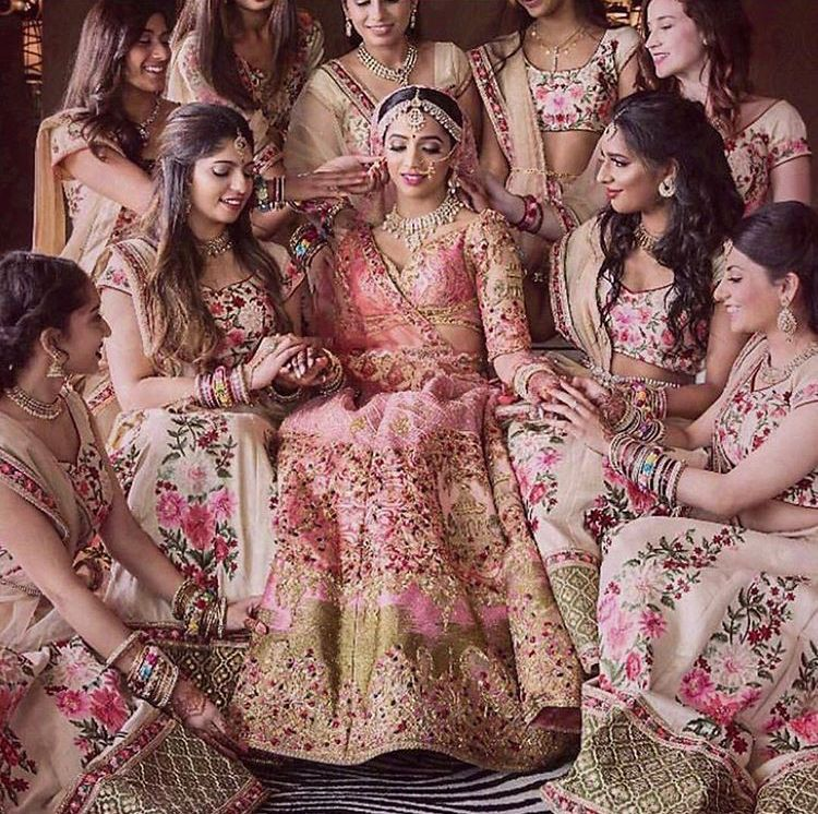 Bride sis | Bridal lehengas and suits | Pinterest | Damitas de honor ...