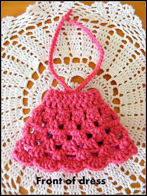 Dress For Your Amigurumi 22cm Tall Free Crochet Pattern Pdf