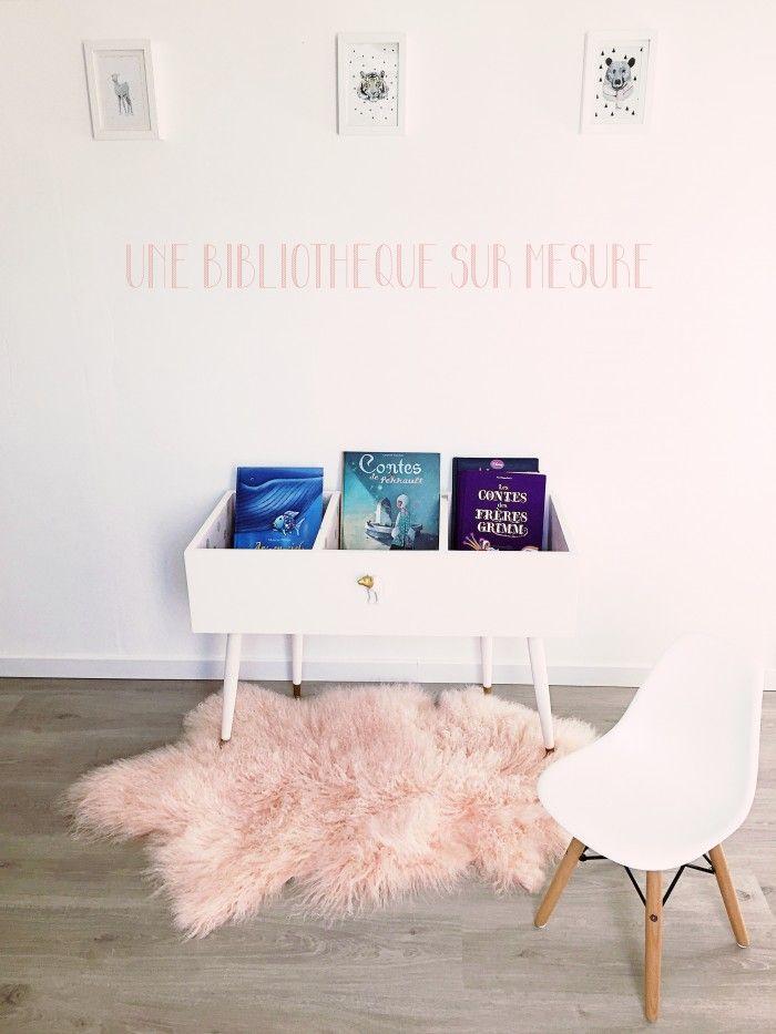 diy d une biblioth que pour enfants baby en 2019 biblioth que enfant chambre enfant et diy. Black Bedroom Furniture Sets. Home Design Ideas