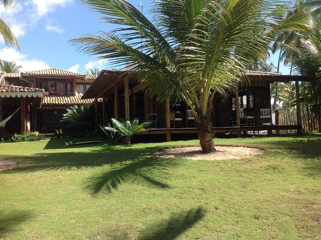 Casa Temporada na Barra Grande/Maraú: Casa na beira da praia de Taipus de Fora