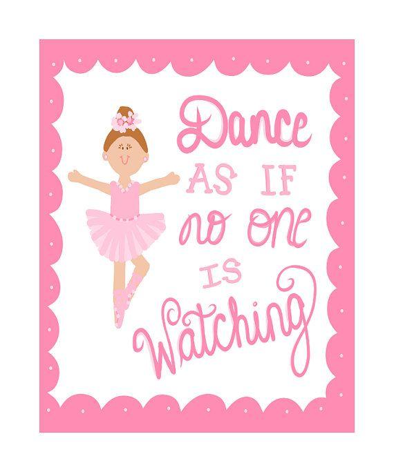 BALLET WORD ART Dance Personalised Gift Present Her Sister Little Daughter B