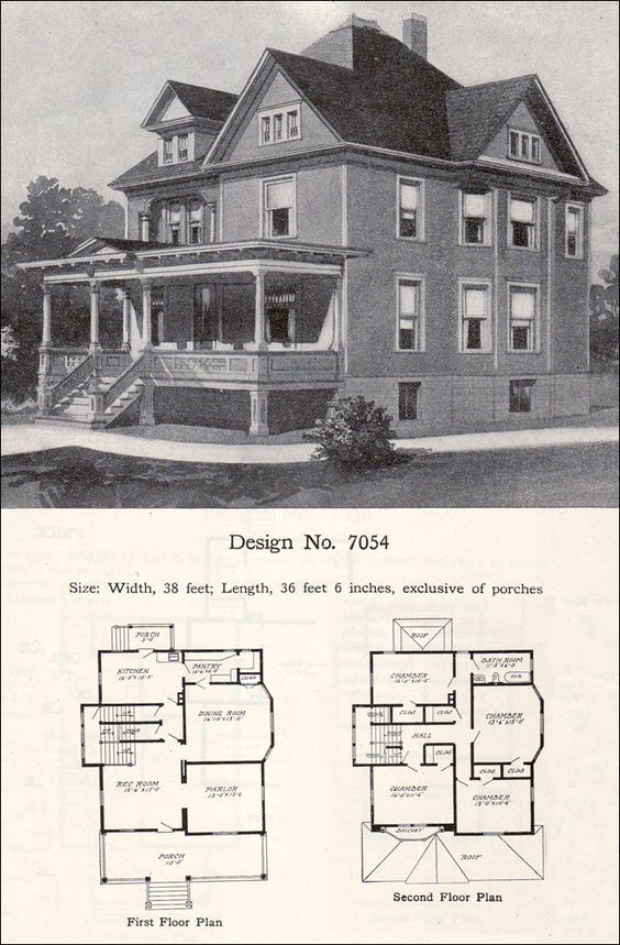 Image Result For Queen Anne Sleeping Porch Queen Anne House Victorian House Plans House Plans Uk
