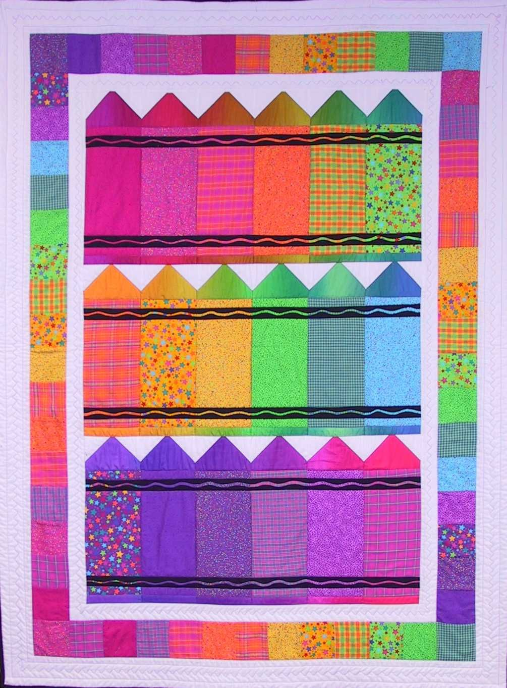 Many different quilt patterns shown here on Quiltbug.com WOW! DL ... : different quilting patterns - Adamdwight.com