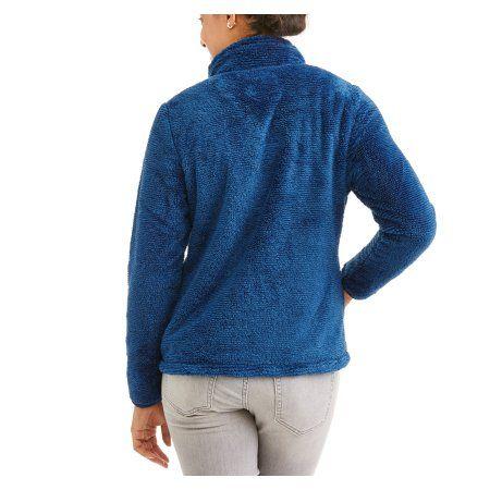 55570541910 Faded Glory Women s Plush Sport Fleece Jacket