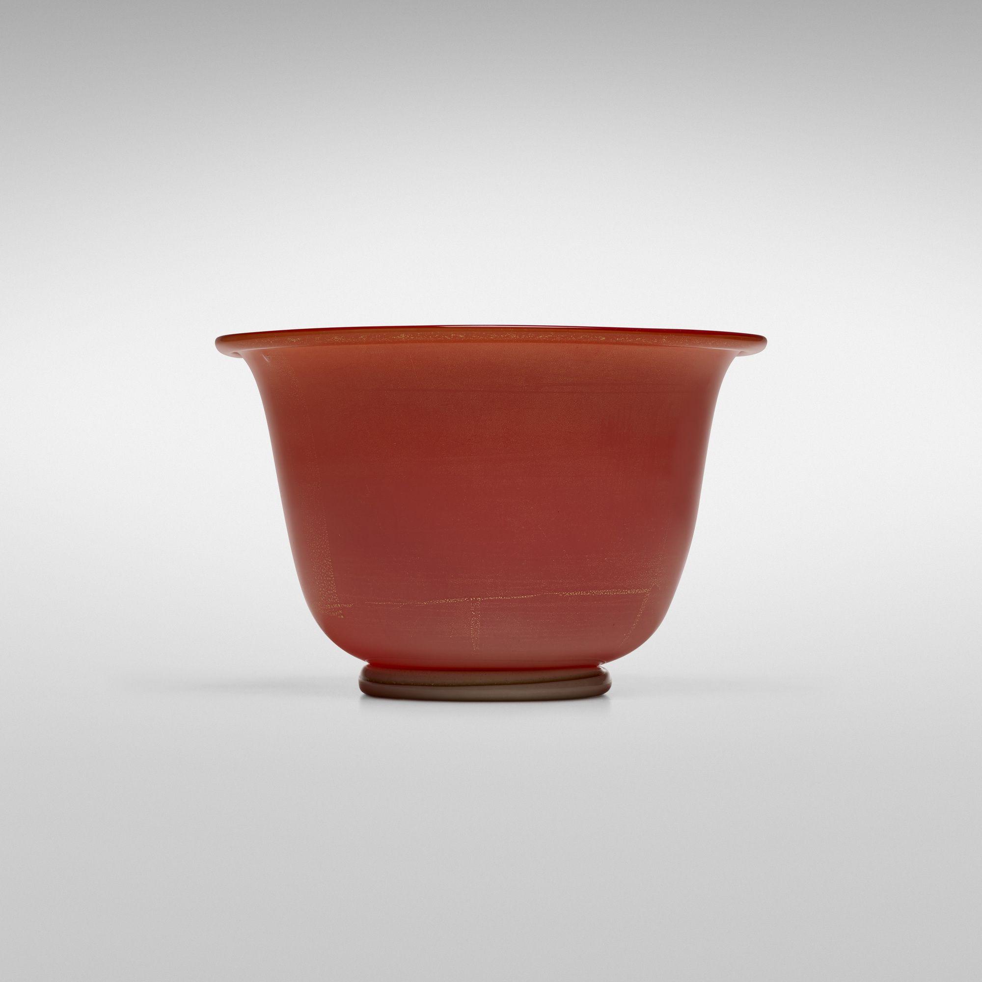 Tomaso Buzzi Laguna Bowl Wright20 Com Bowl Glass Glass Art