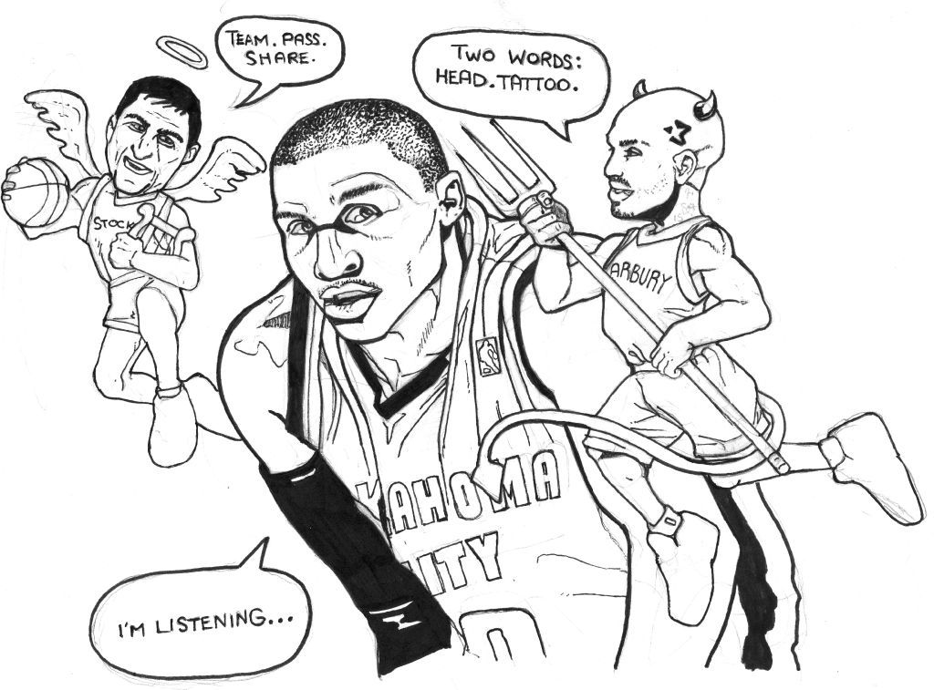 Russell Westbrook Color Pages